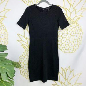 J. Crew | Black Wool Blend Dress, Black Label!